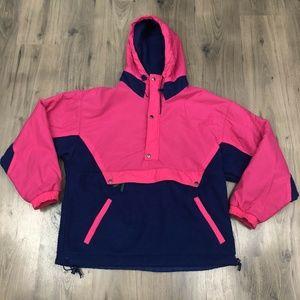Vintage Gap Artic Light Fleece Anorak Style Jacket